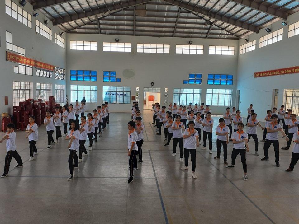 Ngoại khóa Võ cổ truyền Bình Định năm học 2019-2020