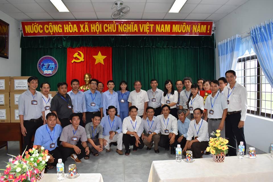 Giám đốc Sở GD&ĐT Đào Đức Tuấn làm việc với Trường THPT Chuyên Chu Văn An
