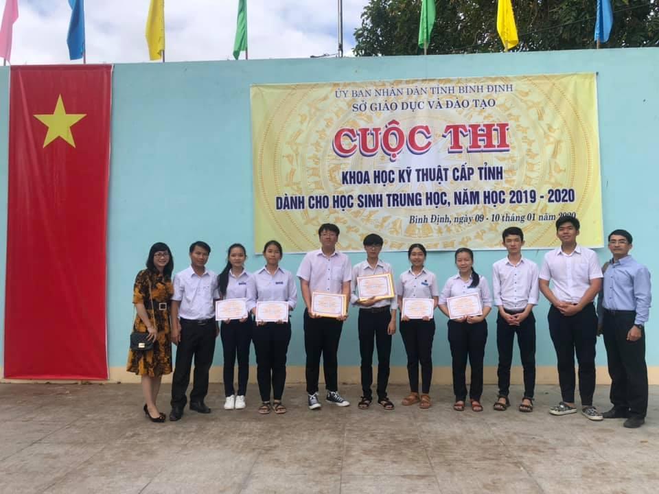 Cuộc thi KHKT cấp tỉnh dành cho học sinh trung học năm học 2019 - 2020